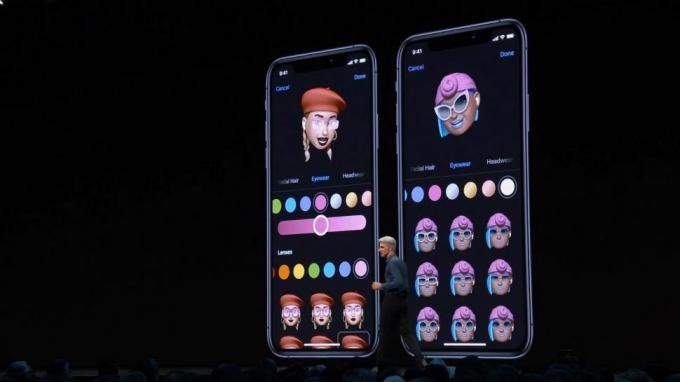 iOS 13 offers new mays to customize your Memoji.