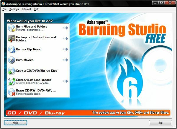 Ashampoo Burning Studio Gratis