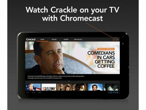 Crackle (Android, iOS, Web; gratis)