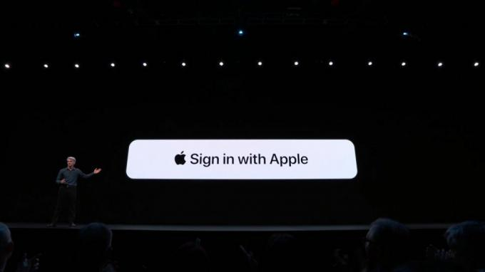 Sign in with Apple is designed to offer simple logins that protect your privacy.