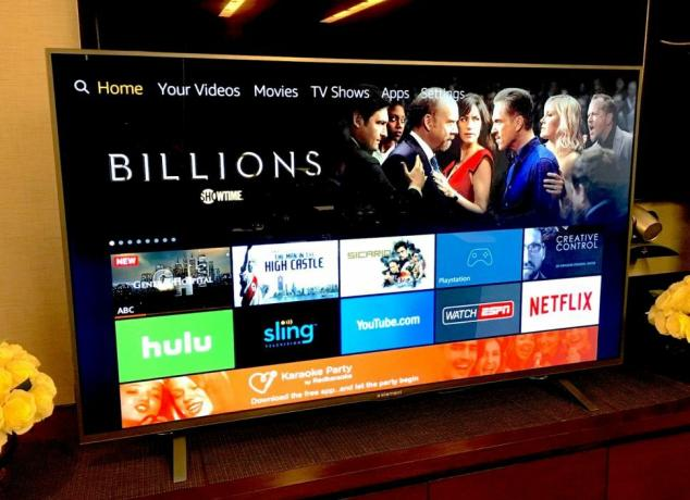 Amazon Edition TVs have Alexa built right in. Photo credit: Mike Prospero