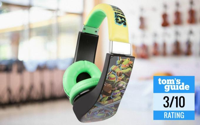 Auriculares aptos para niños Teenage Mutant Ninja Turtles