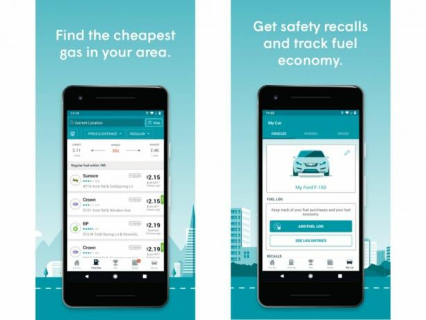 GasBuddy (Android, iOS: Free)