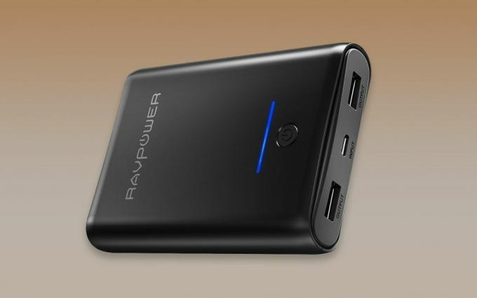 best portable chargers and power banks: RavPower 10000-mAh Portable Charger