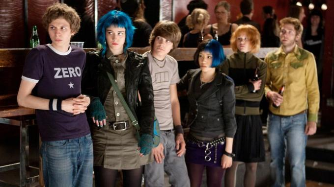 netflix'teki en iyi komedi filmleri - Scott Pilgrim vs the World.
