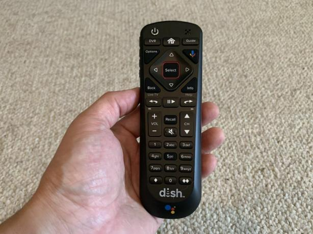 Dish Google Assistant Remote