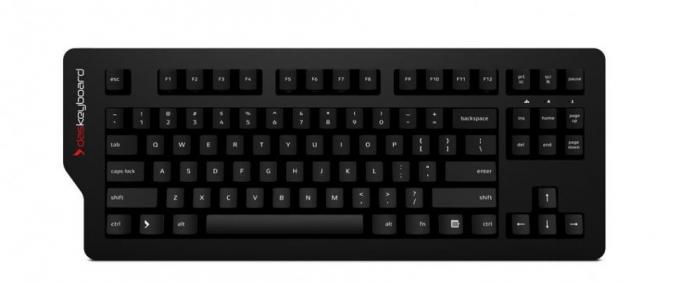 The Das Keyboard 4C with greentech switches.