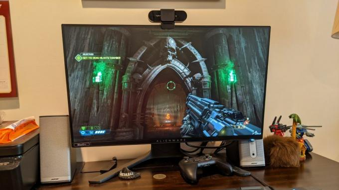 مراجعة Alienware 25 Gaming Monitor AW2521H