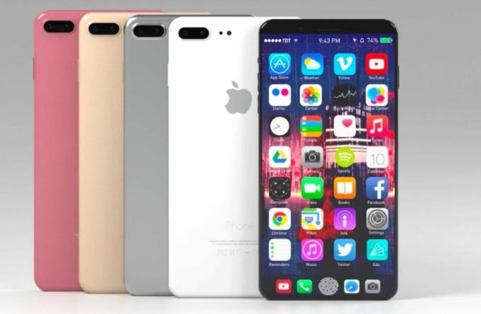İPhone 8, 5,8 inç OLED ekrana sahip olabilir. Kredi: Tech Driven Times / YouTube