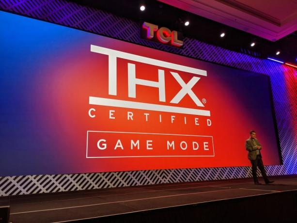TCL and THX Certified Gaming Mode